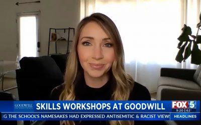 Fox5 Soft Skills Workshops at Goodwill San Diego