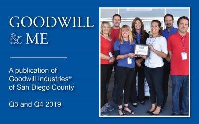 Goodwill & Me – Q3 and Q4 2019