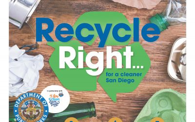 RECYCLE RIGHT FOR A CLEANER SAN DIEGO