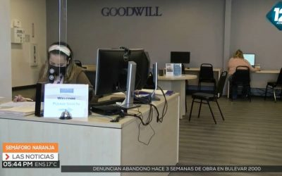 XEWT Televisa Goodwill Career Advisors help with Vaccine Appointments
