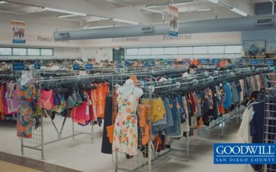 XEWT visits Goodwill San Diego Midway Store