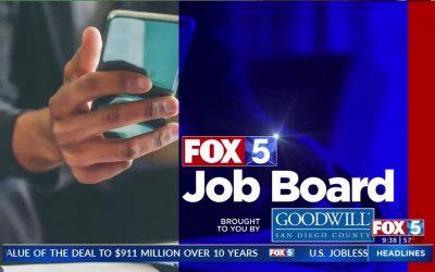 Fox 5 Getting A job at Goodwill San Diego
