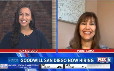 Fox5 Goodwill San Diego Now Hiring
