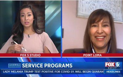 Fox5 Goodwill San Diego Service Programs